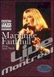 Cover Dvd DVD Marianne Faithfull Sings Kurt Weill. Live in Montreal