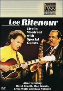 Lee Ritenour. Live in Montreal - DVD