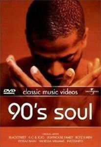 Film 90's Soul. Classic Music Videos
