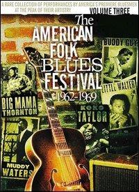 Locandina The American Folk Blues Festival. Volume 3. 1962-1969
