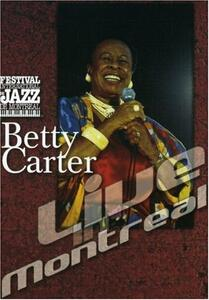 Betty Carter. Live in Montreal - DVD