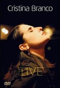 Cristina Branco. Live - DVD