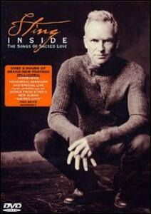 Sting. Inside. The Songs Of Sacred Love - DVD