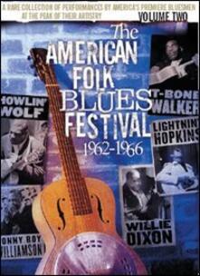 The American Folk Blues Festival. Volume 2. 1962-1966 - DVD