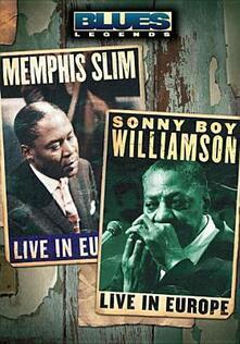 Memphis Slim And Sonny Boy Williamson. Blues Legends - DVD