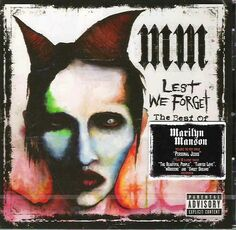CD Lest We Forget. The Best of Marilyn Manson Marilyn Manson