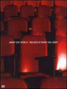 Jimmy Eat World. Believe in What You Want - DVD