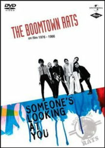 Film The Boomtown Rats. On Film 1976 - 1986. Somenone's Looking At You