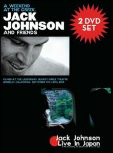 Jack Johnson. A Weekend at the Greek (2 DVD) - DVD
