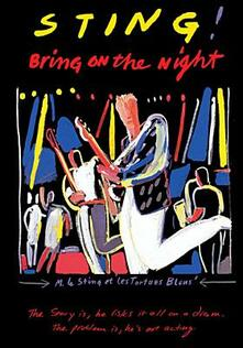 Sting. Bring on the Night - DVD