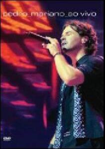 Pedro Mariano. Ao vivo - DVD