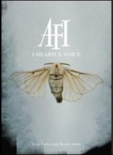 Afi. I Heard A Voice - DVD