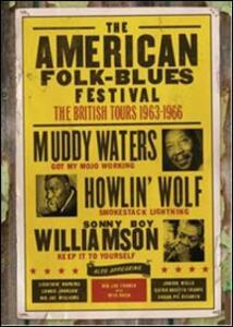 The American Folk Blues Festival. Vol. 4. The British Tours 1963 - 1966 - DVD