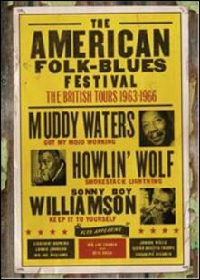 The American Folk Blues Festival. Vol. 4. The British Tours 1963 - 1966 - DVD