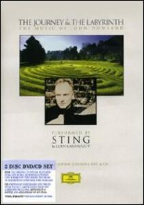 Sting. The Journey and The Labyrinth. Music by John Dowland (2 DVD) - DVD