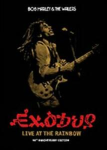 Bob Marley And The Wailers. Exodus. Live At The Rainbow - DVD