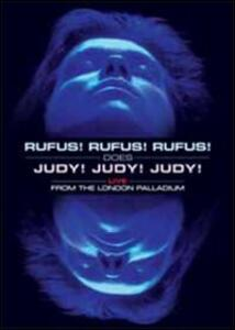 Rufus Wainwright. Rufus! Does Judy! Live At The London Palladium - DVD