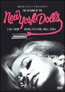New York Dolls. Live From Royal Festival Hall '04 - DVD