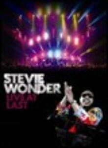 Stevie Wonder. Live at Last - DVD