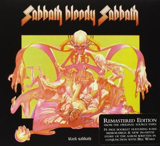 Sabbath Bloody Sabbath - CD Audio di Black Sabbath