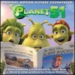 Cover della colonna sonora del film Planet 51