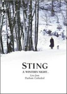 Sting. A Winter's Night... Live From Durham Cathedral (2 DVD) - DVD
