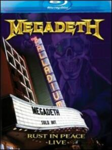 Megadeth. Rust in Peace Live - Blu-ray
