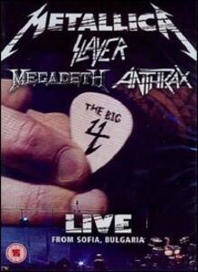 Metallica, Slayer, Anthrax, Megadeth. Big 4. Live From Sofia, Bulgaria (2 DVD) - DVD