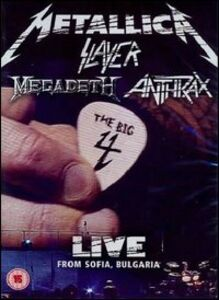 Film Metallica, Slayer, Anthrax, Megadeth. Big 4. Live From Sofia, Bulgaria