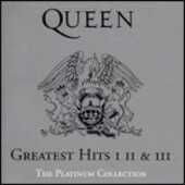 CD Greatest Hits I, II, III. The Platinum Collection Queen