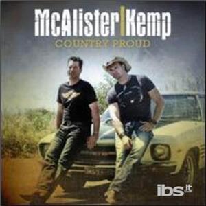 Country Proud - CD Audio di McAlister Kemp
