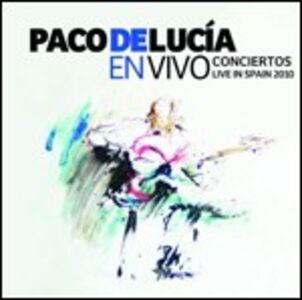 Foto Cover di En vivo. Conciertos Live in Spain 2010, CD di Paco De Lucia, prodotto da Emarcy