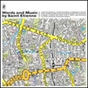 Foto Cover di Words and Music by Saint Etienne, CD di Saint Etienne, prodotto da Universal