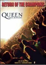 Film Queen and Paul Rodgers. Return Of The Champions