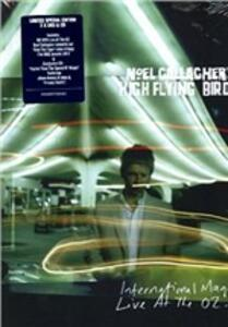 Noel Gallagher's High Flying Birds. International Magic Live At The O2 (2 DVD)<span>.</span> Deluxe Limited Edition - DVD