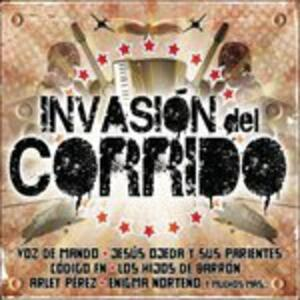 Invasion Del Corrido - CD Audio