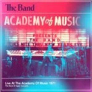 Foto Cover di Live at the Academy of Music 1971, CD di Band, prodotto da IMS-Capitol/Universal