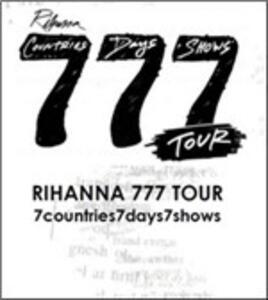 Rihanna. 777 Tour - DVD