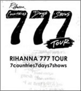 Film Rihanna. 777 Tour