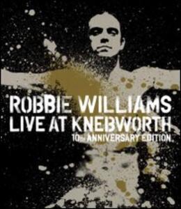 Robbie Williams. Live at Knebworth<span>.</span> 10th Anniversary Edition - Blu-ray