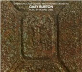 Seven Songs for Quartet and Chamber Orchestra - Vinile LP di Gary Burton