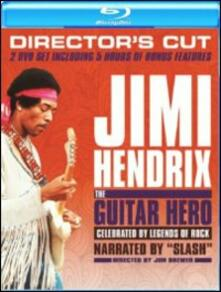 Jimi Hendrix. The Guitar Hero (2 Blu-ray) di Jon Brewer - Blu-ray