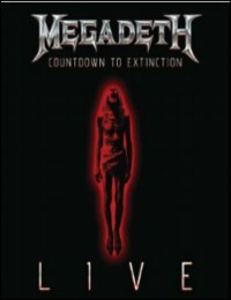 Film Megadeth. Countdown To Extinction Live