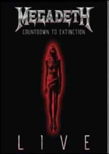 Megadeth. Countdown To Extinction Live - DVD