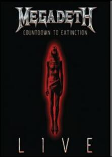 Megadeth. Countdown To Extinction Live - DVD