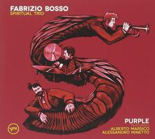 Purple - CD Audio di Fabrizio Bosso