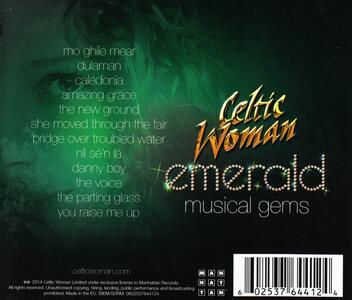 Emerald. Musical Gems - CD Audio di Celtic Woman - 2