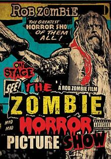 Rob Zombie. The Zombie Horror Picture Show - DVD