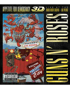 Film Guns N' Roses. Appetite For Democracy. Live At The Hard Rock Casino 3D