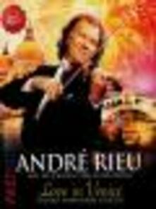 André Rieu and His Johann Strauss Orchestra. Love in Venice - DVD